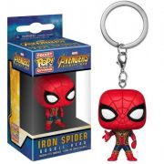 POCKET POP KEYCHAIN CHAVEIRO FUNKO IRON SPIDER