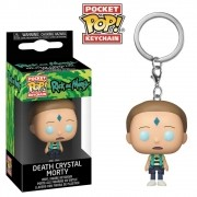 POCKET POP KEYCHAIN CHAVEIRO FUNKO MORTY FLOATING DEATH CRYS