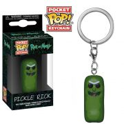 POCKET POP KEYCHAIN CHAVEIRO FUNKO PICKLE RICK AND MORTY