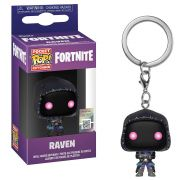 POCKET POP KEYCHAIN CHAVEIRO FUNKO RAVEN FORTNITE
