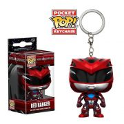 POCKET POP KEYCHAIN CHAVEIRO FUNKO RED RANGER POWER RANGER