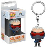POCKET POP KEYCHAIN CHAVEIRO FUNKO Soldier 76