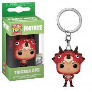 POCKET POP KEYCHAIN CHAVEIRO FUNKO TRICERA OPS FORTNITE