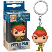 POCKET POP KEYCHAIN PETER PAN DISNEYLAND 65TH
