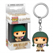 POCKET POP KEYCHAIN RON HOLIDAY HARRY POTTER CHAVEIRO