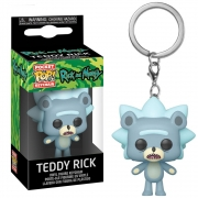POCKET POP KEYCHAIN TEDDY RICK RICK & MORTY