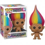 POP FUNKO 01 RAINBOW TROLL GOOD LUCK TROLLS