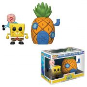 POP FUNKO 02 SPONGEBOB WITH GARY HOUSE BOB ESPONJA