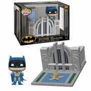 POP FUNKO 09 BATMAN WITH THE HALL OF JUSTICE 80 YEARS
