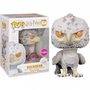 POP FUNKO 104 BUCKBEAK FLOCKED SPECIAL EDITION HARRY POTTER