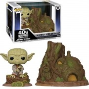 POP FUNKO 11 DAGOBAH YODA WITH HUT STAR WARS 40 TH EMPIRE