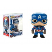 POP FUNKO 125 CAPTAIN AMERICA CIVIL WAR STEVE ROGERS