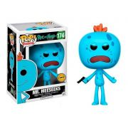 POP FUNKO 174 MR MEESEEKS RICK AND MORTY CHASE