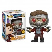 POP FUNKO 198 STAR LORD GUARDIOES DA GALAXIA CHASE