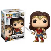 POP FUNKO 206 WONDER WOMAN JUSTICE LEAGUE