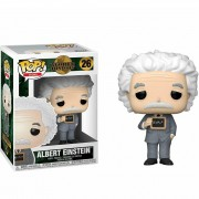 POP FUNKO 26 ALBERT EINSTEIN WORLD HISTORY