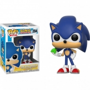 POP FUNKO 284 SONIC WITH EMERALD