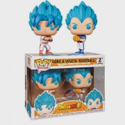 POP FUNKO 2 PACK GOKU E VEGETA BASEBALL DRAGON BALL