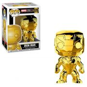 POP FUNKO 375 IRON MAN CHROME
