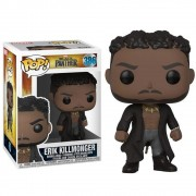 POP FUNKO 386 ERIK KILLMONGER BLACK PANTHER PATERA