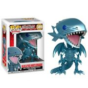 POP FUNKO 389 BLUE EYES WHITE DRAGON YU GI OH! DRAGAO BRANCO