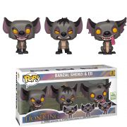 POP FUNKO 3 PACK BANZAI, SHENZI & ED LION KING