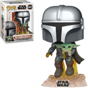 POP FUNKO 402 THE MANDALORIAN WITH THE CHILD STAR WARS