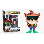 POP FUNKO 421 CRASH BANDICOOT WITH SCUBA GEAR