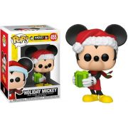 POP FUNKO 455 HOLIDAY MICKEY 90TH DISNEY