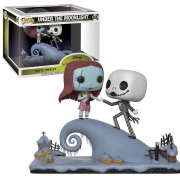 POP FUNKO 458 UNDER THE MOONLIGHT JACK AND SALLY ON THE HILL