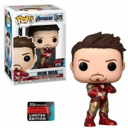 POP FUNKO 529 IRON MAN LIMITED EDITION AVENGERS ENDGAME
