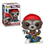 POP FUNKO 531 ROCKET (HOLIDAY) MARVEL