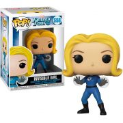 POP FUNKO 558 INVISIBLE GIRL FANTASTIC FOUR 4 MARVEL