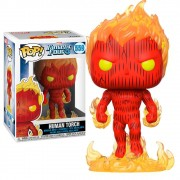 POP FUNKO 559 HUMAN TORCH FANTASTIC FOUR 4 MARVEL