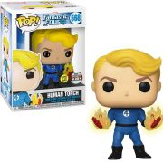 POP FUNKO 568 HUMAN TORCH FANTACTIC FOUR