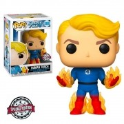 POP FUNKO 569 HUMAN TORCH FANTASTIC FOUR SPECIAL EDITION