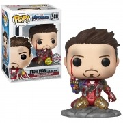 POP FUNKO 580 IRON MAN I AM IRON MAN EXCLUSIVE GLOWS IN DARK