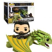 POP FUNKO 67 JON SNOW & RHAEGAL GAME OF THRONES