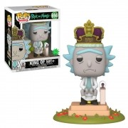 POP FUNKO 694 RICK KING OF $#!+