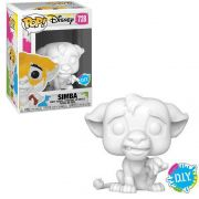 POP FUNKO 728 SIMBA D.I.Y LION KING