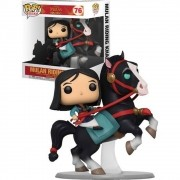 POP FUNKO 76 MULAN RIDING KHAN