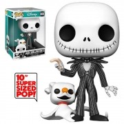 POP FUNKO 809 JACK W ZERO NIGHTMARE BEFORE CHRISTMAS 26 CM