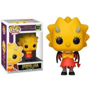 POP FUNKO 821 DEMON LISA THE SIMPSONS TREEHOUSE OF HORROR