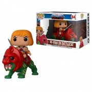 POP FUNKO 84 HE-MAN ON BATTLE CAT