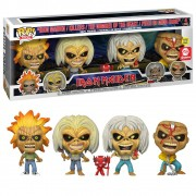 POP FUNKO EDDIE IRON MAIDEN 4PACK GLOW IN THE DARK