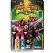 ReAction Mighty Morphin Power Rangers Megazord 1 SUPER7