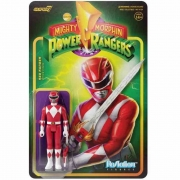 ReAction Mighty Morphin Power Rangers Red Ranger 1 SUPER7