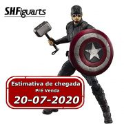 (RESERVA 10% DO VALOR) Captain America Avengers EndGame Final Battle S.H.Figuarts LOTE 2