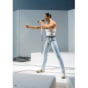 (RESERVA 10% DO VALOR)  S.H. Figuarts Freddie Mercury Queen Live AID - 30/09