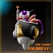 (RESERVA 10% DO VALOR) S.H Figuarts Freeza First Form & Freeza Pod Dragon Ball Z